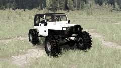 Jeep Wrangler (YJ) crawler para MudRunner