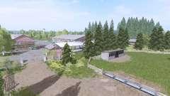 Dreistern Hof plus para Farming Simulator 2017