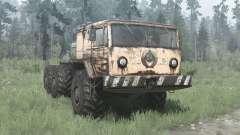 MAZ 535 6x6 para MudRunner