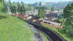 Am Flussufer v1.1 para Farming Simulator 2015