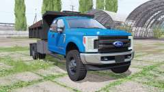 Ford F-550 Super Duty Extended Cab 2017 para Farming Simulator 2017