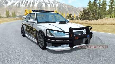 Hirochi Sunburst Police High-Speed Unit v1.0.1 para BeamNG Drive