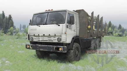 KamAZ-5320 6x6 para Spin Tires