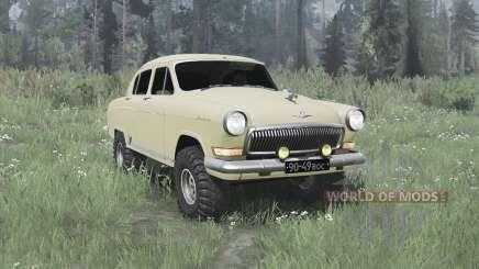 GAZ-21 Volga 4x4 para MudRunner
