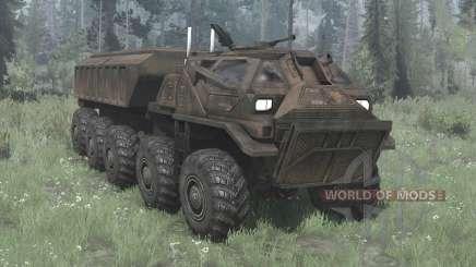 EDF Supply Truck para MudRunner