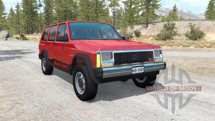 Jeep Cherokee (XJ) para BeamNG Drive