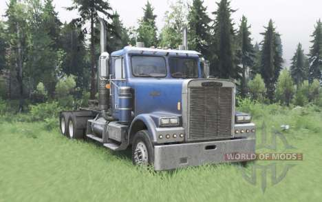 Freightliner FLD 120 SD para Spin Tires