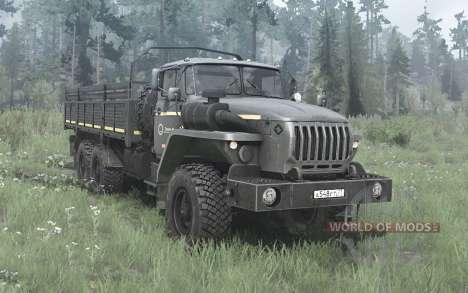 Ural 4320-60M para Spintires MudRunner