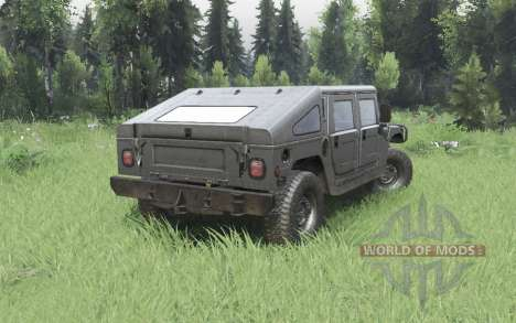 Hummer H1 4-door pickup 1992 para Spin Tires
