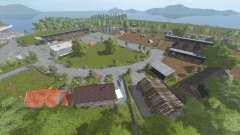 Spectacle Island v1.1 para Farming Simulator 2017