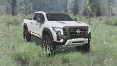 Nissan Titan Warrior concept 2016 para MudRunner
