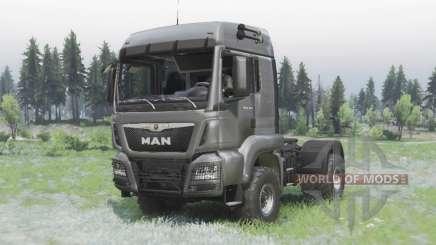 MAN TGS 18.440 4x4 v1.3 para Spin Tires