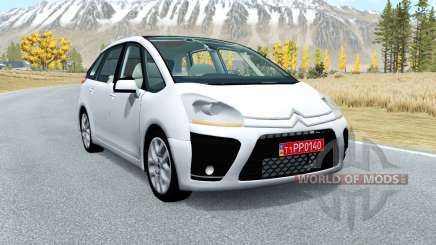 Citroen C4 Picasso 2010 para BeamNG Drive