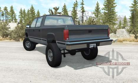 Gavril D-Series lifted para BeamNG Drive
