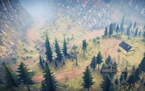 La luna 14 - Extreme logging 2 para Spintires MudRunner
