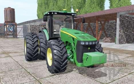 John Deere 8245R GreenStar para Farming Simulator 2017