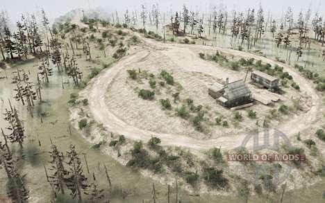 Siberiano pantanos v1.1 para Spintires MudRunner