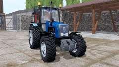 MTZ 1221.2 azul v2.0 para Farming Simulator 2017