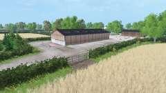 Hamilton Brothers Farm para Farming Simulator 2015