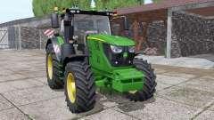 John Deere 6155R full pack para Farming Simulator 2017