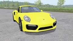 Porsche 911 Turbo S coupe (991) 2016 v1.0.0.1 para Farming Simulator 2017