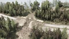 La construcción de la carretera