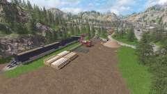 The Abandoned Forest para Farming Simulator 2017
