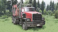 Western Star 6900XD 2008 para Spin Tires
