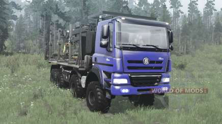 Tatra Phoenix T158 8x8 azul para MudRunner