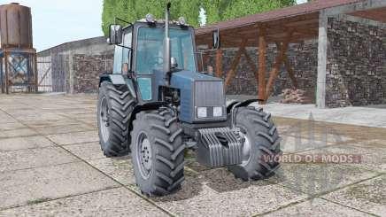MTZ-1221 Belarús selección de color de la v1.4.2 para Farming Simulator 2017