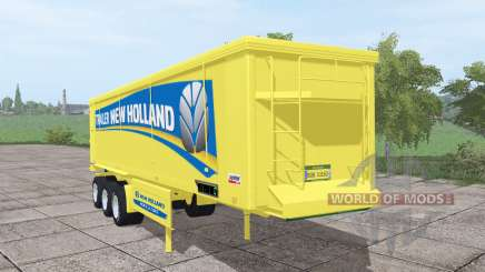Kroger Agroliner SRB3-35 New Holland v1.5 para Farming Simulator 2017