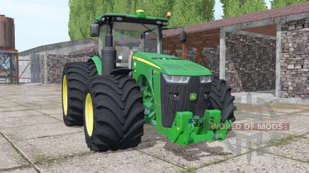 John Deere 8370R USA v4.0 para Farming Simulator 2017