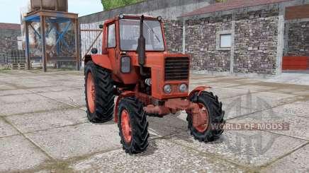MTZ 82 Belarús con el Kun para Farming Simulator 2017