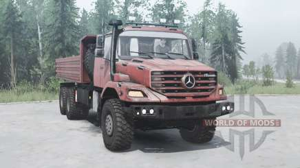 Mercedes-Benz Zetros 3643 A para MudRunner
