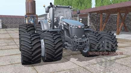 Massey Ferguson 8737 double wheels para Farming Simulator 2017