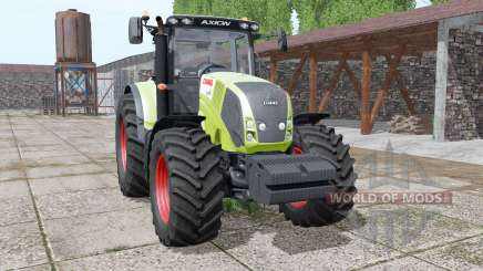 CLAAS Axion 850 animation parts para Farming Simulator 2017