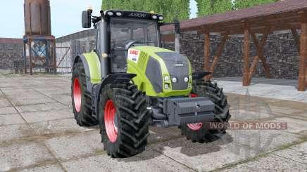 CLAAS Axion 810 v1.1 para Farming Simulator 2017