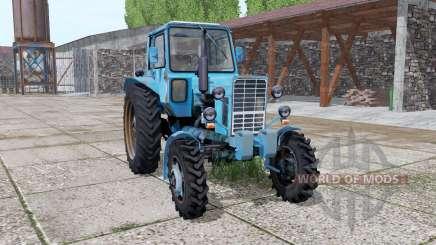 MTZ 82 Belarús 1985 piezas animadas para Farming Simulator 2017