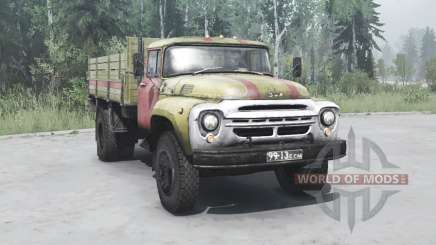 1964 ZIL 130 Luces de emergencia para MudRunner