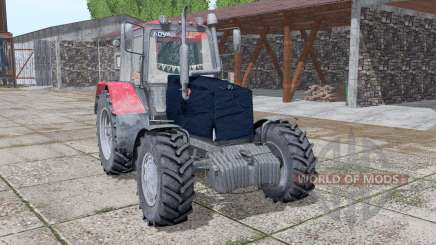 MTZ-1221 Belarús v2 con aislamiento térmico.2 para Farming Simulator 2017