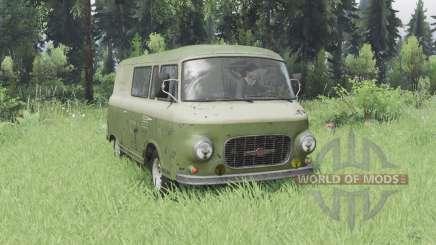 Barkas B1000 KM 1961 para Spin Tires