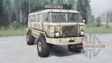 GAZ 66 Beaver v1.1 para MudRunner