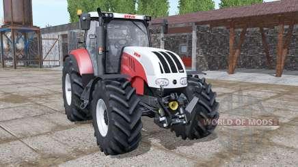 Steyr 6180 CVT new dynamic smoke para Farming Simulator 2017