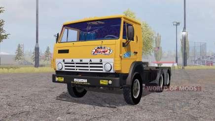KamAZ 5410 con remolque 1972 para Farming Simulator 2013