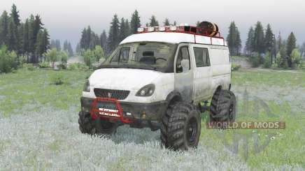GAZ 2705 Gacela v2.0 para Spin Tires