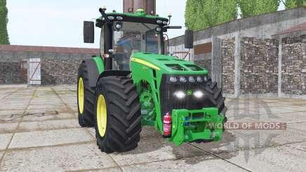 John Deere 8345R EU v2.1 para Farming Simulator 2017