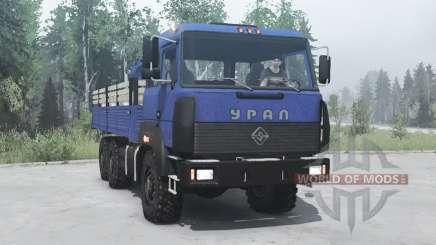 Ural 6x6 4320-3111-78 v2.0 para MudRunner