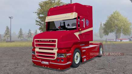 Scania T164L 580 two-axle Topline 1995 para Farming Simulator 2013