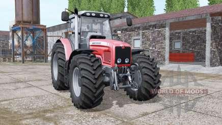Massey Ferguson 6475 v1.1 para Farming Simulator 2017