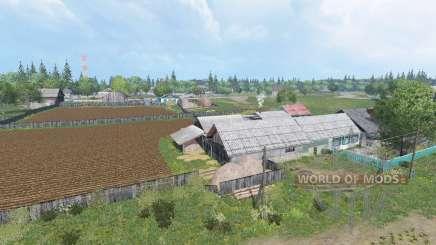 El pueblo de Kurai v1.9 para Farming Simulator 2015